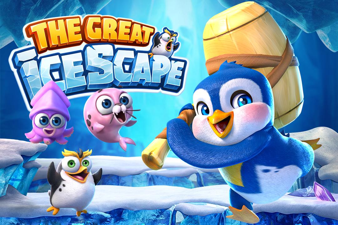 รีวิวเกมสล็อต THE GREAT iCESCAPE กับเว็บเดิมพัน สโบเบท