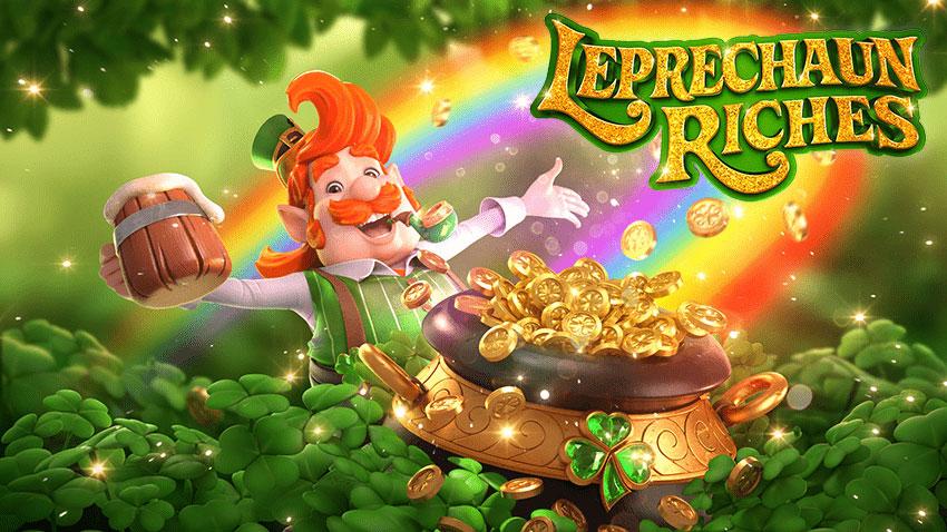 รีวิวสล็อตภูติจิ๋ว Leprechaun Riches ล่าสมบัติล้ำค่า กับโบนัสก้อนโต